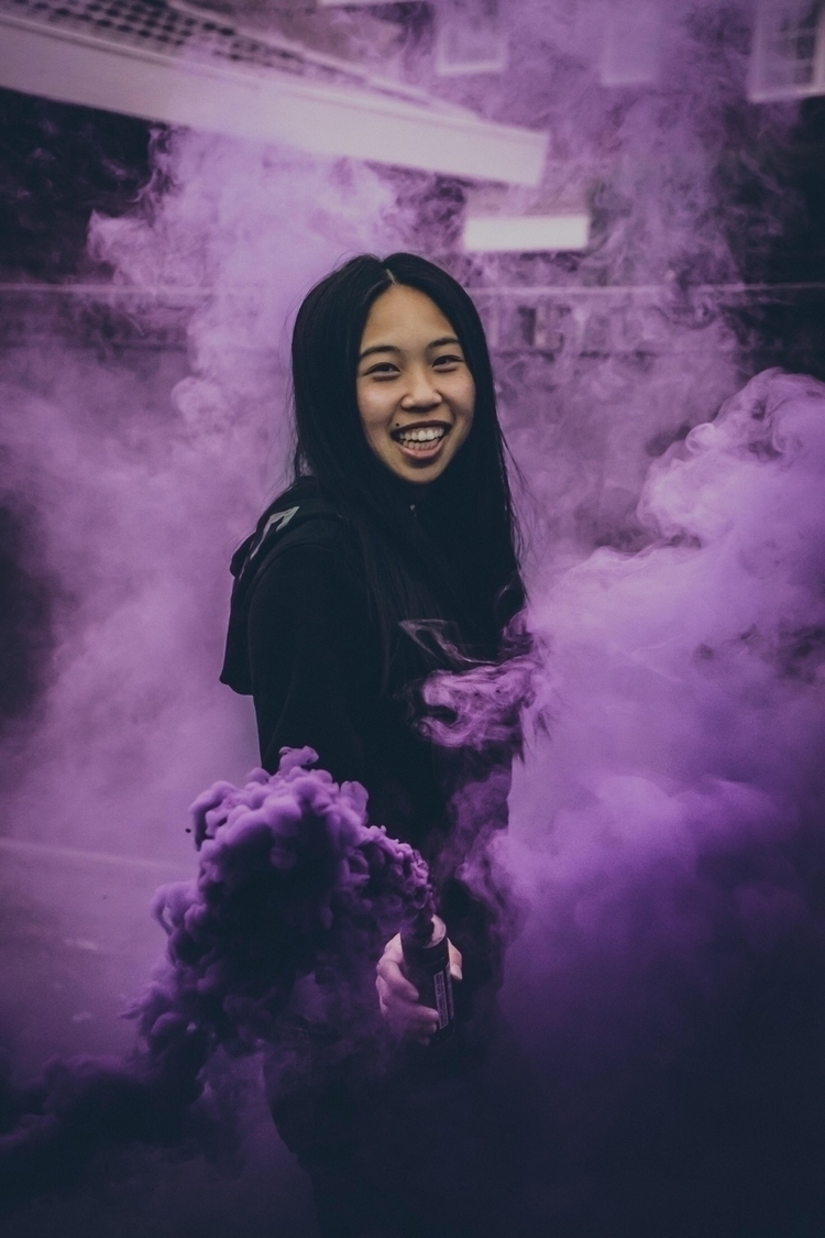 smokey - portrait, moody, smoke - jeremytio | ello