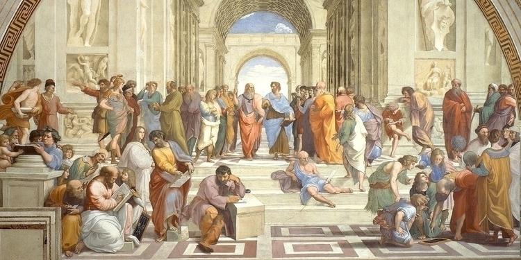 School Athens Raphael - sebastianorozco | ello