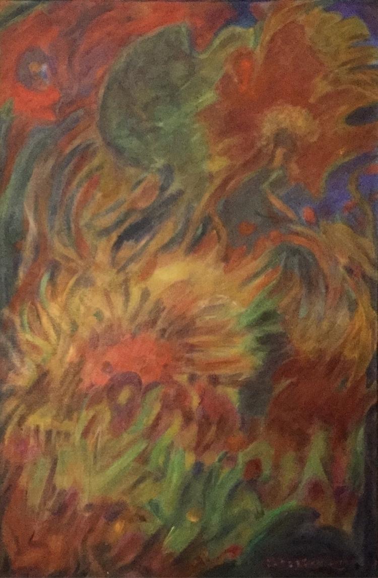 Sunflowers 24x36 - bobbi-8863   ello