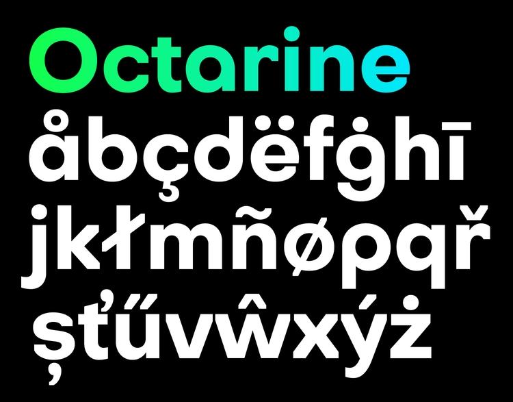 Octarine geometric sans serif t - slobzheninov | ello