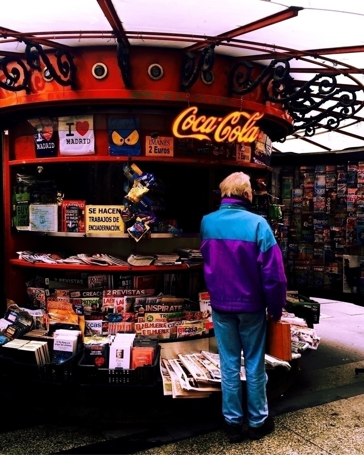 Choosing •Photographed Madrid,  - isabelmoraleda   ello