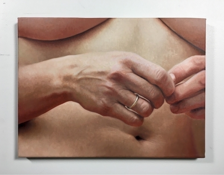 "small painting called ""#metoo""  - nadinerobbinsart | ello"