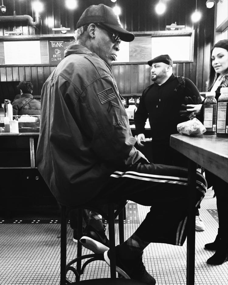 Dennis Rodman. NYC - streetphotography - pattifog | ello