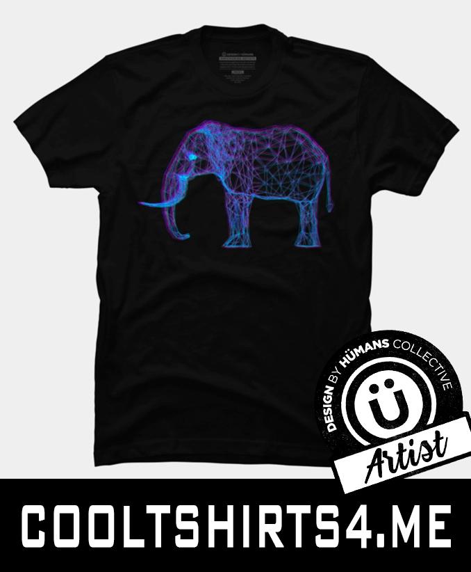 effect store Store - Elephant, Anaglyph - denisddtk | ello