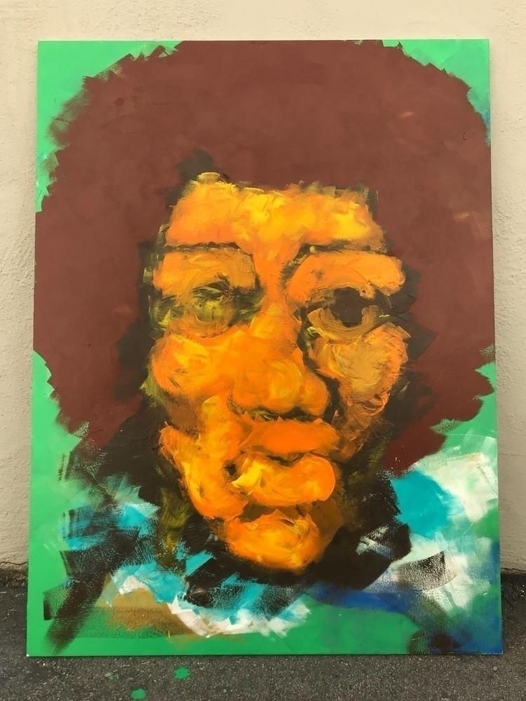 working Jimmy Hendrix piece   a - lsdart   ello