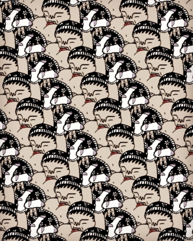 "relaxing wallpaper called ""Brow - hellocamthorpe | ello"