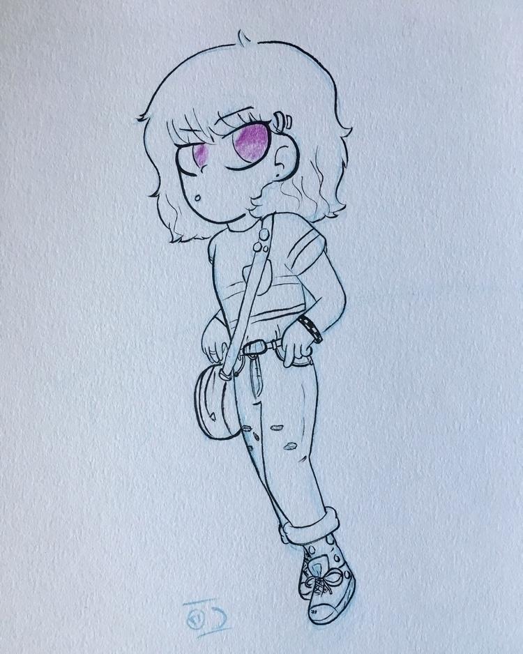 drawing. drew - art, cartoons, characterdesign - drawlos316 | ello