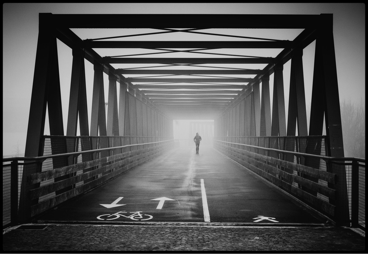 Misty Mornings - blackandwhite, fog - marcogaia | ello