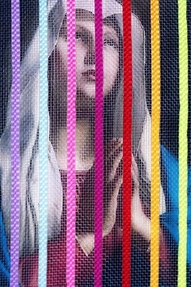 Praying bars - stripes, colorfull - zeren   ello