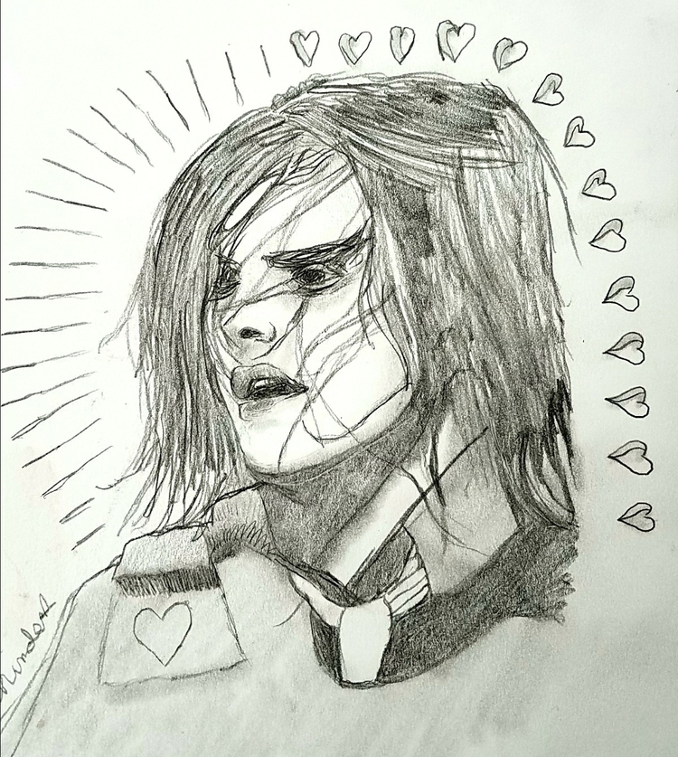 Shock awe - gerardway, fanart, illustration - andaelentari | ello