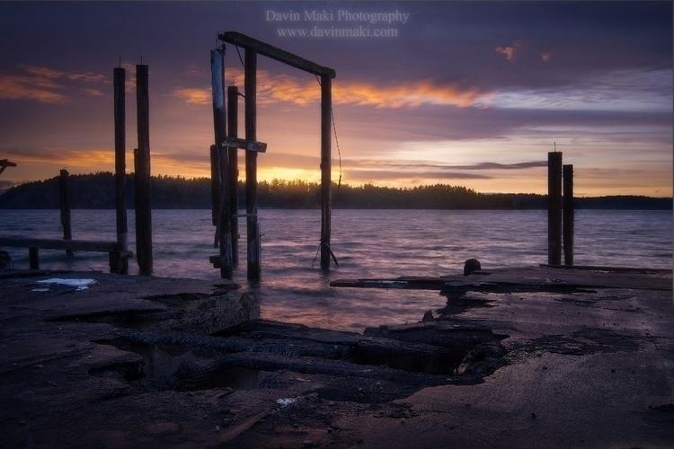 sunset, abandoned, metaphor, washingtonstate - davinm | ello