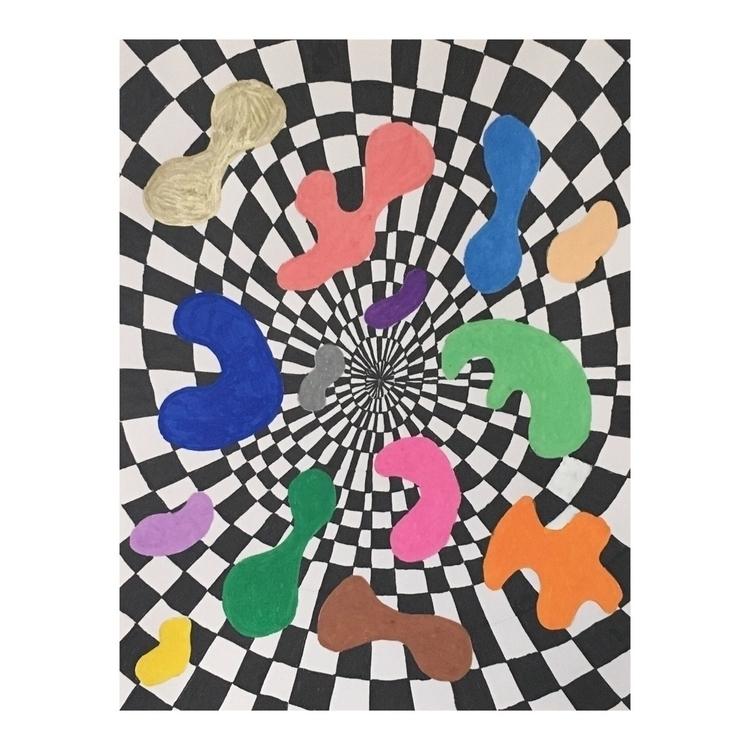 Bubblegum III, 2018, 8.5x11 wat - nathaliechikhi | ello