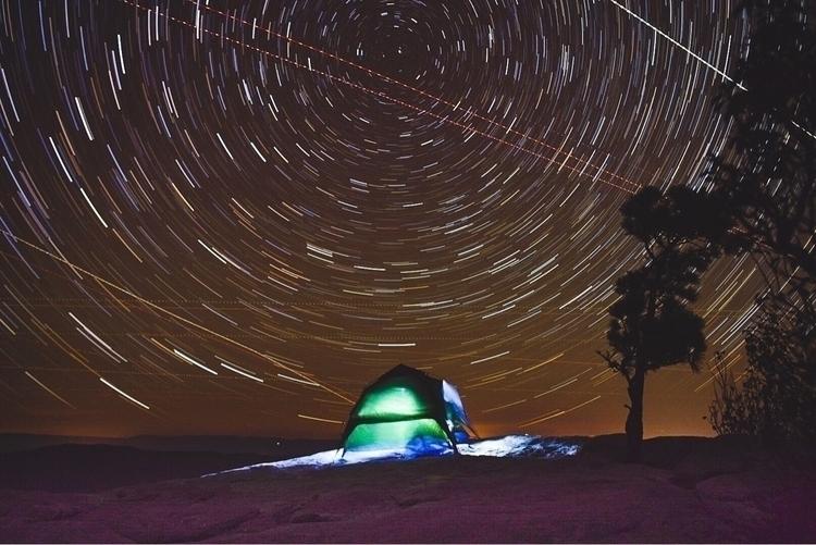 Camping Stars  - camping, stars - baileyrapp | ello