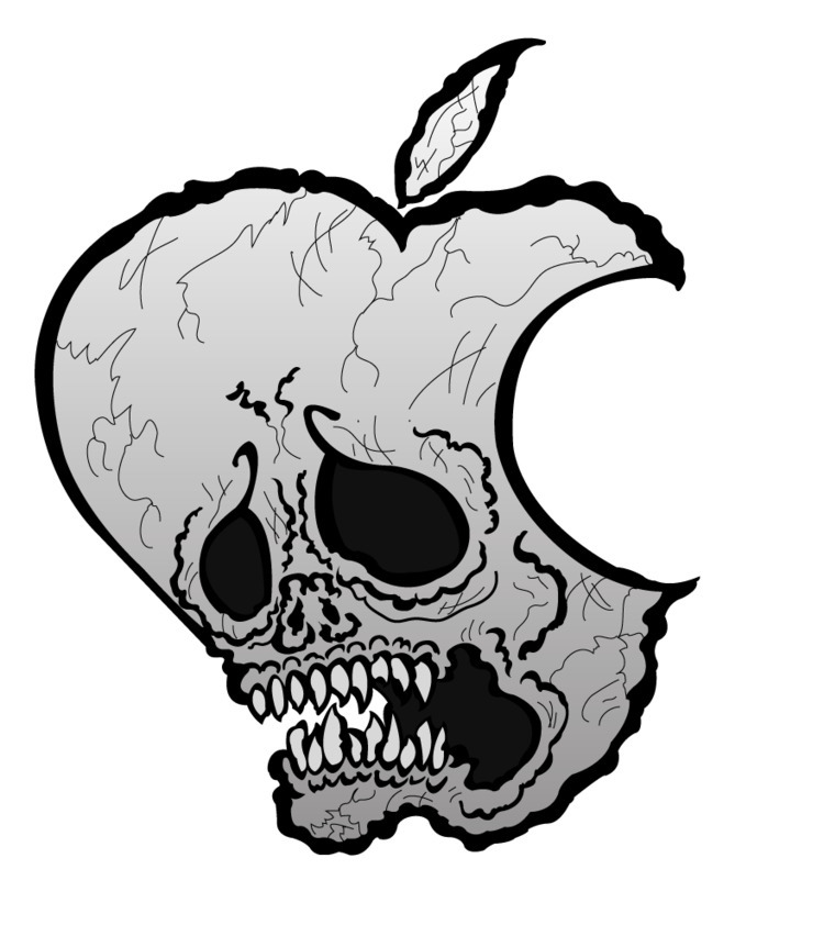 Mac Skull Drew hand PAPER retra - sanenohn | ello