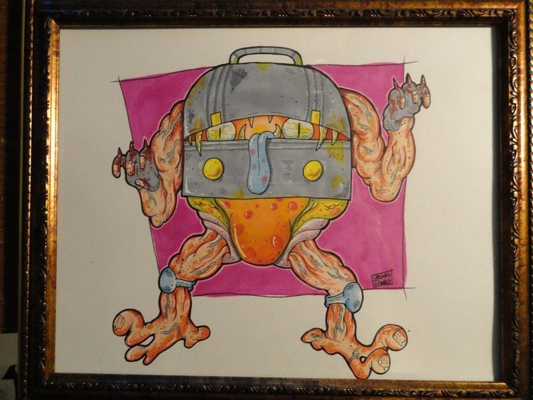 Crunch Box - kaiju, art, demon, crabtornado - crabtornado | ello