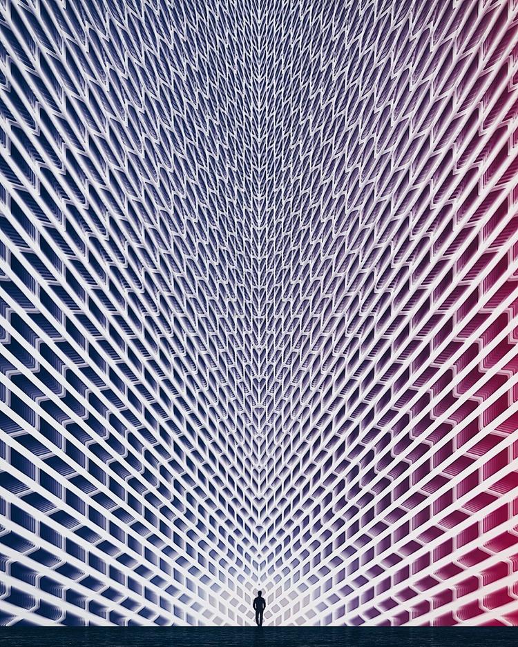 Meshed - digital, digitalart, symmetry - mike_n5   ello
