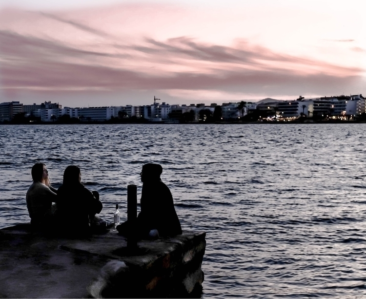 Sunset - ibiza, island, illesbalears - eduluke75 | ello