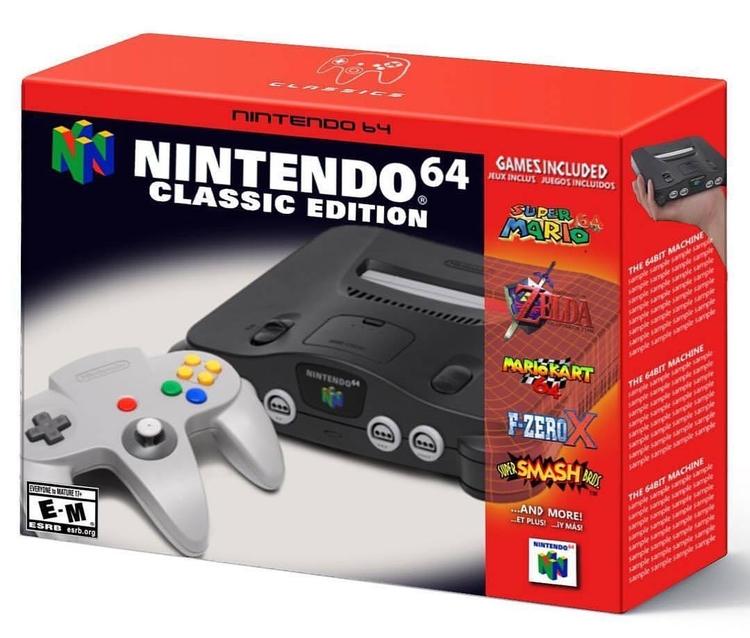 buy Nintendo 64 Classic - n64, nintendo - playerschoice | ello