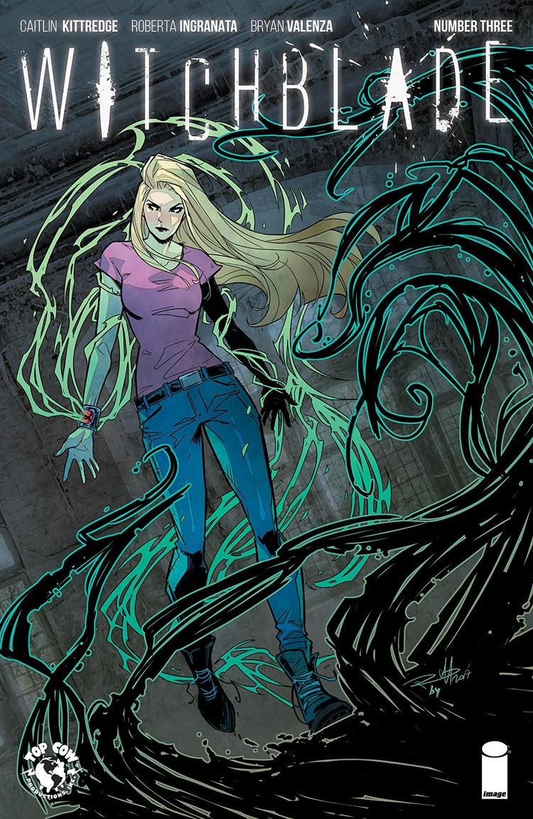 Witchblade Top Cow Productions  - oosteven   ello