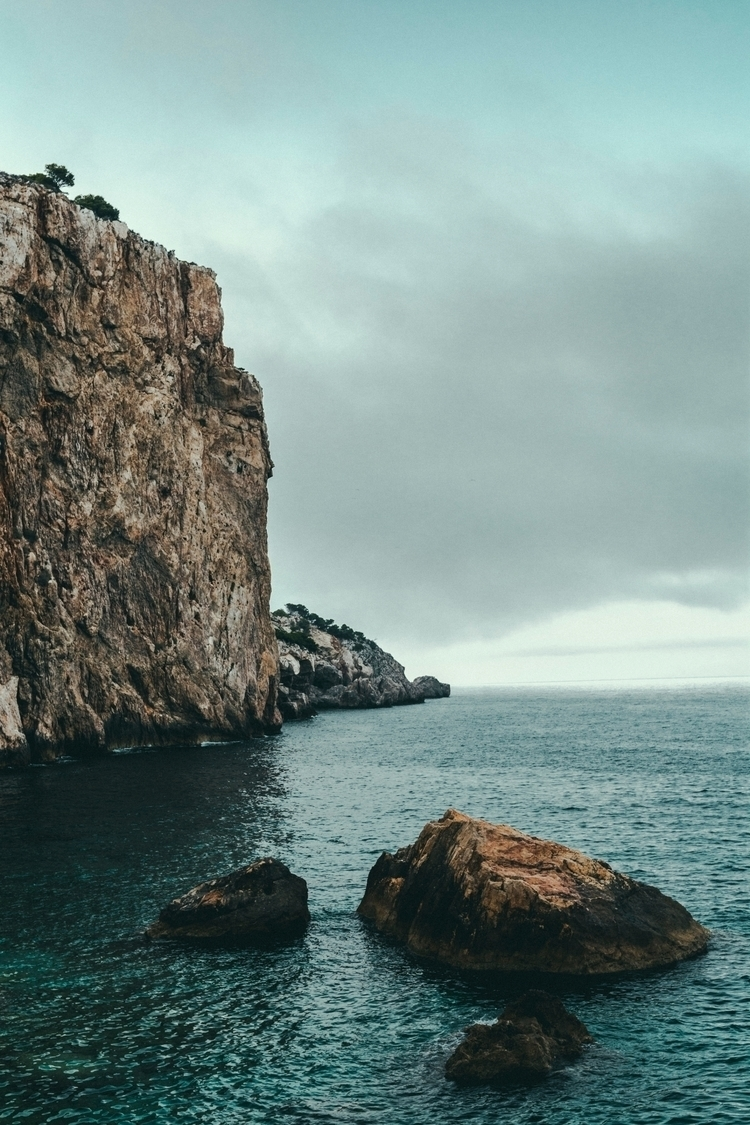 edge cliff . - Cadaqués, Sapin  - miguelvalentin | ello