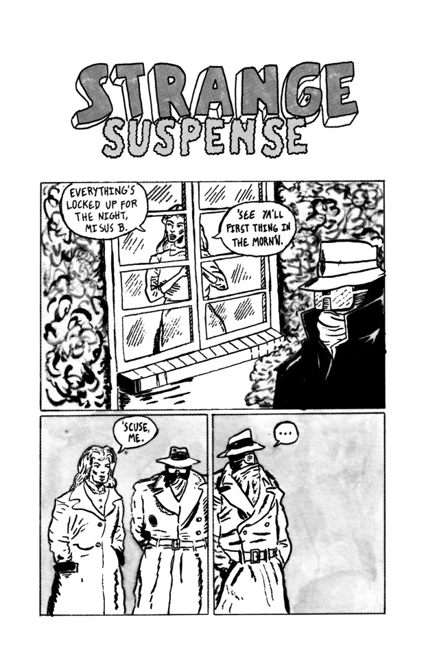 Strange Suspense strip RIPPLE p - patrooks | ello
