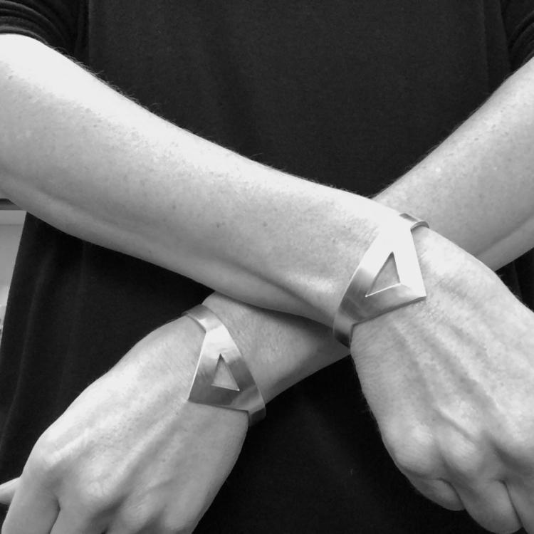Heavy Sterling Cuff Bracelets - motoquaroad | ello