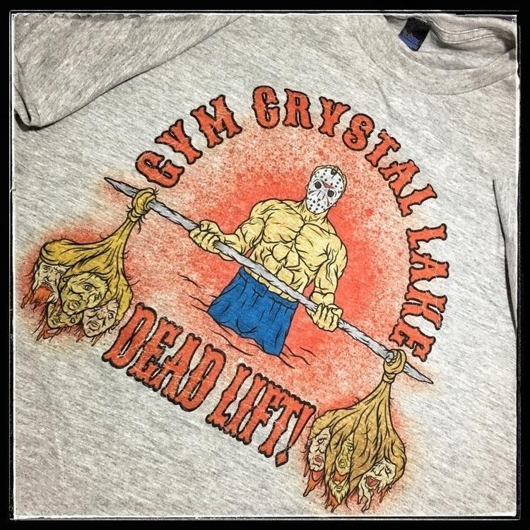 lift dead Gym Crystal Lake. Tee - praytocrom | ello