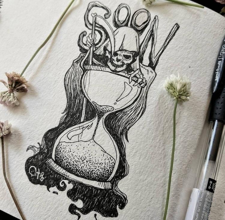 time • kris lorraine - illustration - krislorraine | ello