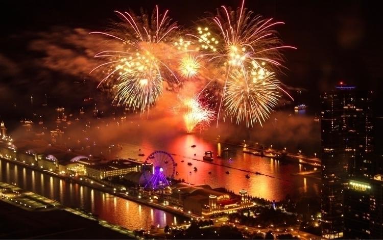 1) Navy Pier Fireworks 2) Scott - scottterry | ello