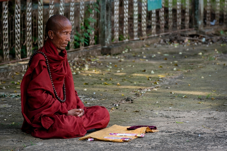 Morning meditation - myanmar, burma - julianrayphotography | ello