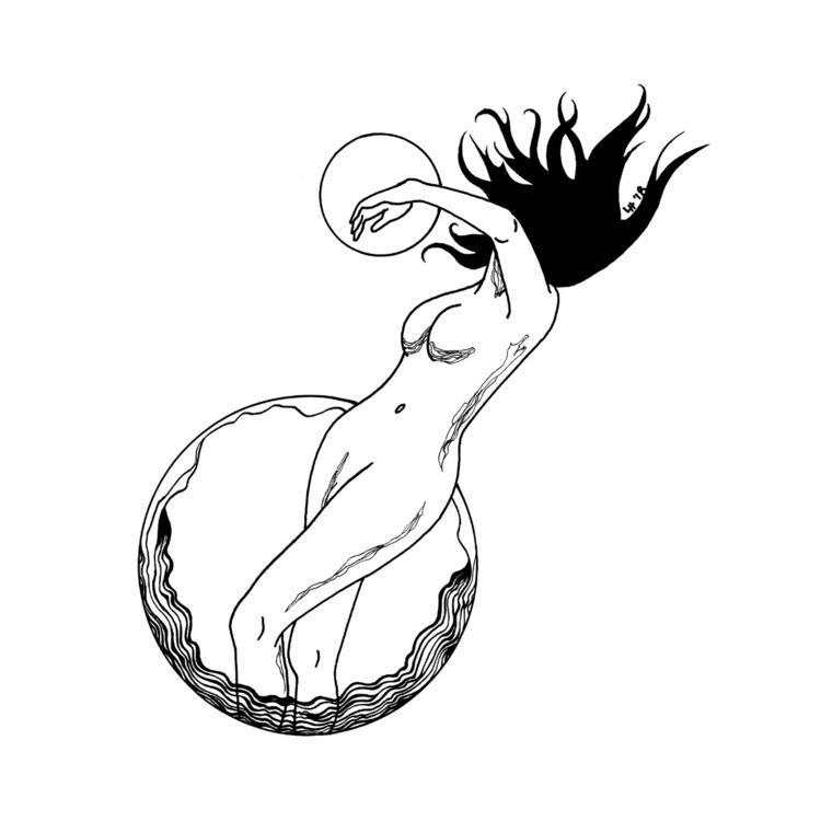 illustration, cosmicslut - cosmicslut | ello
