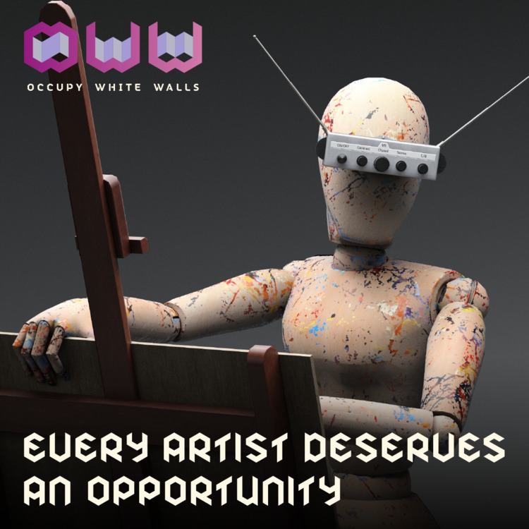 art, artist, human, AI, MMOG - whatisoww | ello