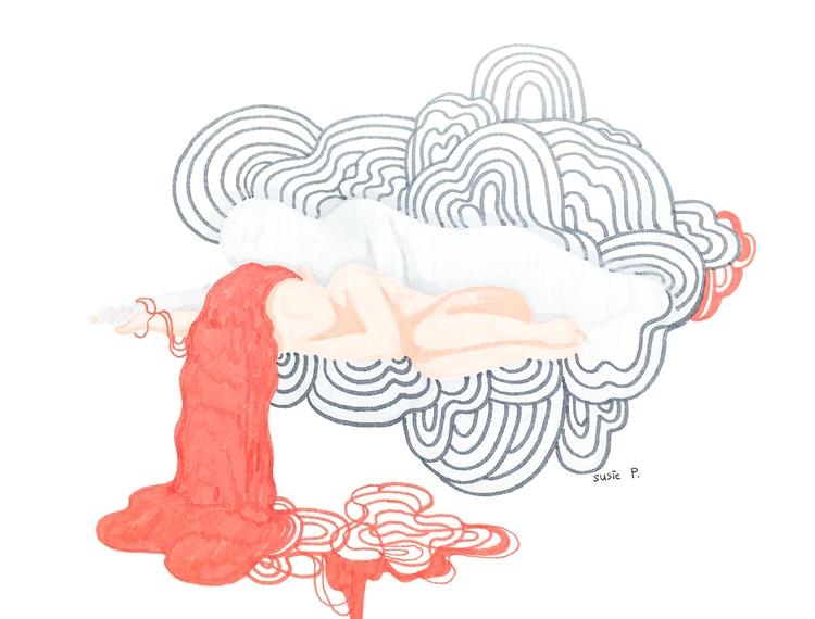 Cloud Dreaming - artist, art, illustration - susiepak | ello