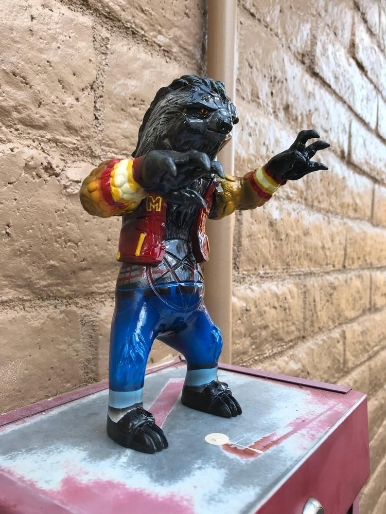 Metal Jackson: Thriller custom  - natethemilkman | ello