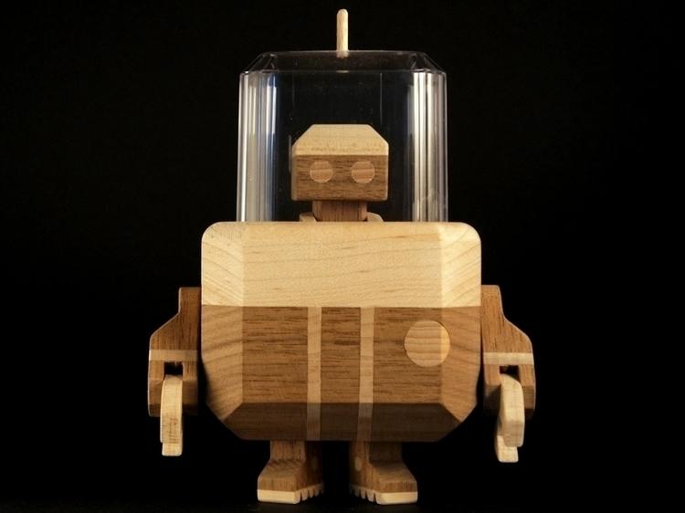 Sycanator 3000 Handmade wooden  - louloutummie | ello