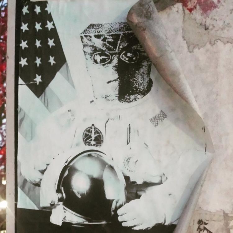 space - collage, collageart, art - serpentariumstickers | ello