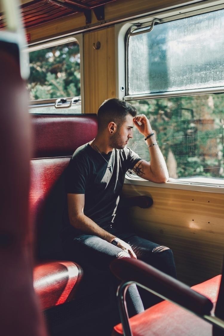 Train . - Madrid, Spain 2017 - portrait - miguelvalentin | ello