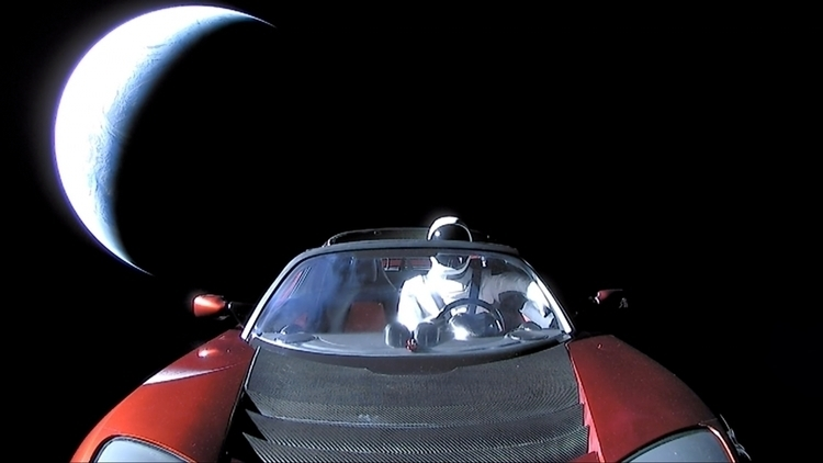 Roadster, Starman, Planet Earth - valosalo | ello