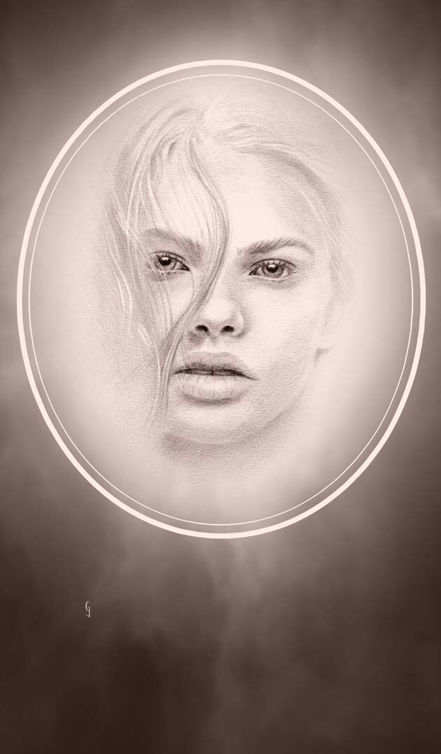 Fade 3 Graphite Digital - art, artist - geoffgoddard | ello