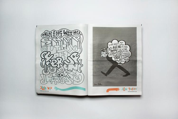 double-page spread Washed colou - jamiekirk   ello