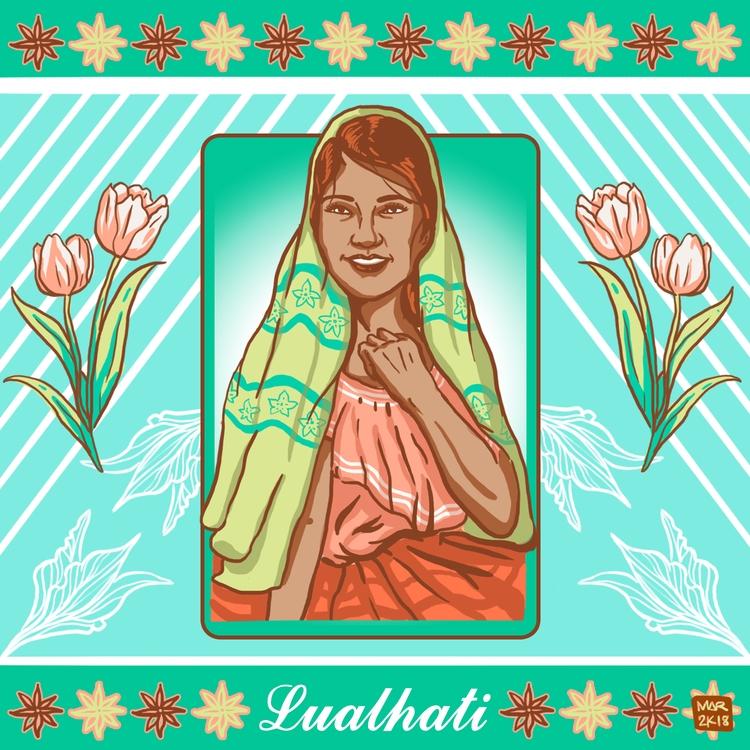 Lualhati - maarte, illustration - angmaarte | ello