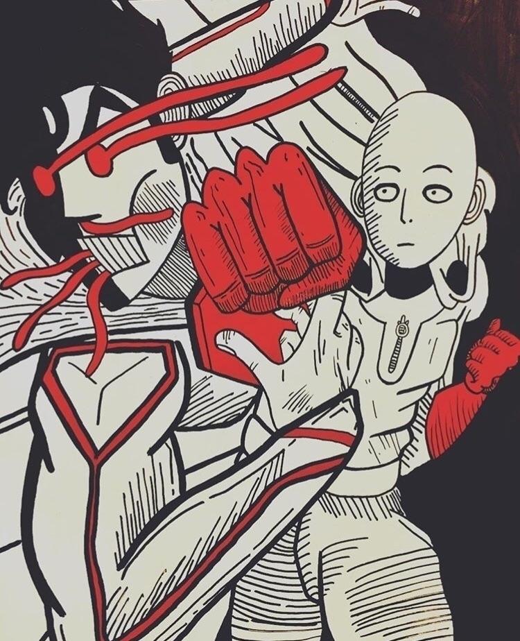 Saitama beats superman instantl - lankybrain | ello