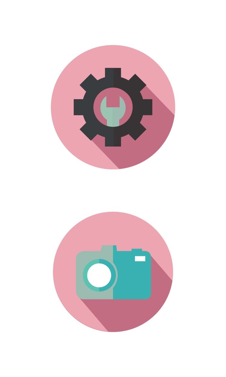 Checkout icons - minimal, design - jessicafleur | ello