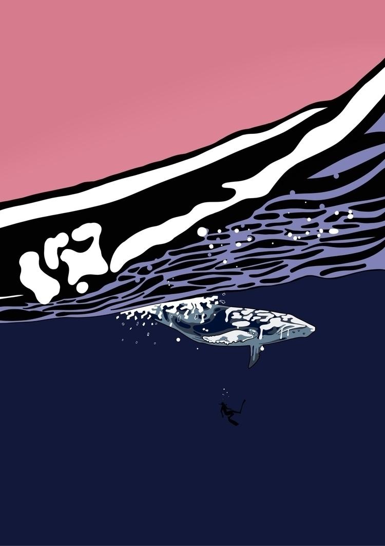 Drippy Whale - rbdrobin   ello
