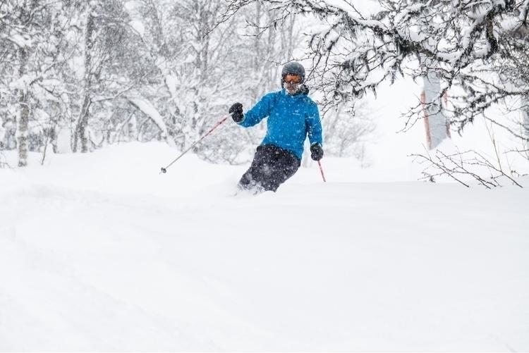 Powder skiing - ellophotography - dav1db   ello