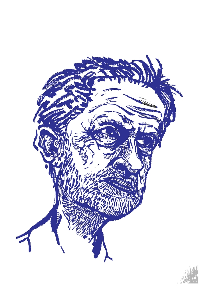 Corbyn Liberal - illustration, sketch - james_trangmar | ello
