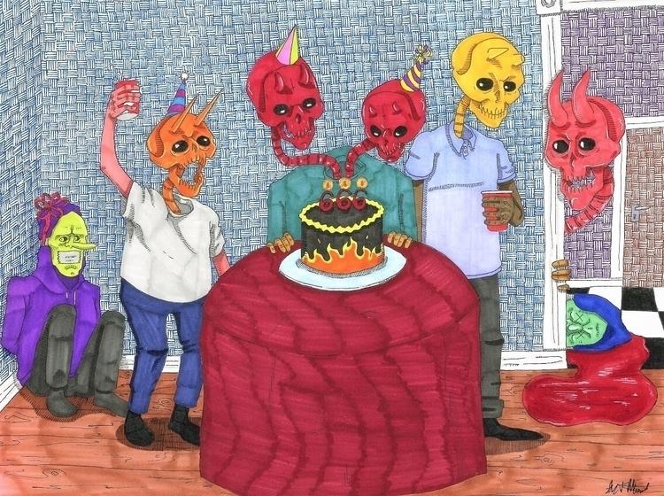 Happy 666th birthday handsome b - drippyfarm | ello