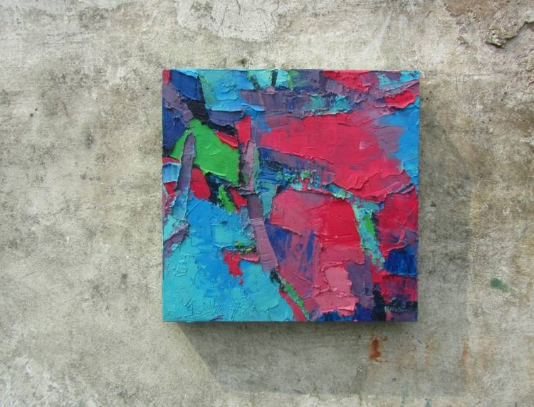Innocent Pink Painting | Size:  - abhishekkumarartist | ello