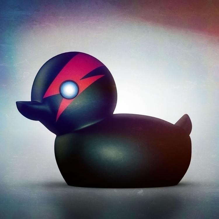 quack, 3d, duck, render, illustration - iraklisan | ello