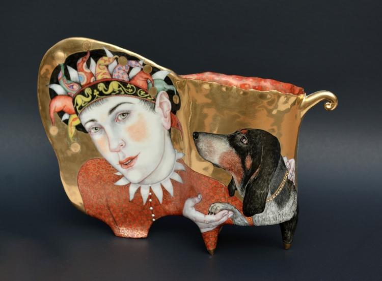 Clown Dogs Irina Zaytceva - duanereedgallery   ello